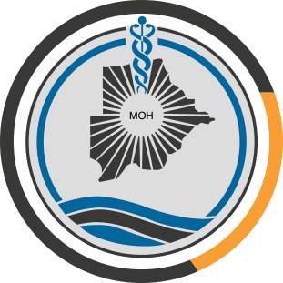 Botswana Government Ministry of Health Logo