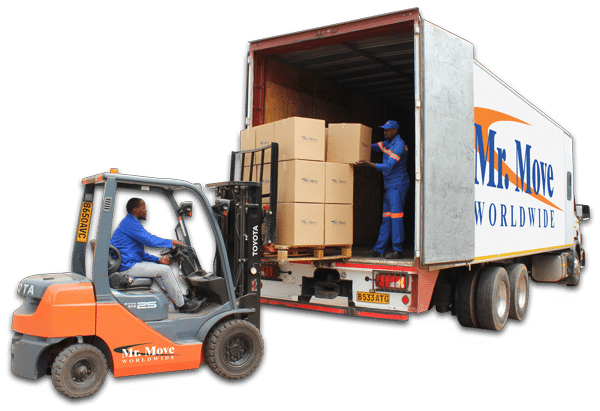 Mr Move Loading Truck with Forklift