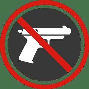 No Firearms Icon