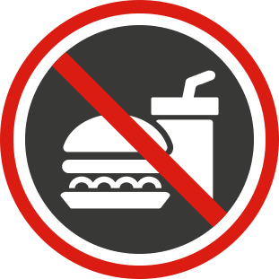 No Foodstuffs Icon